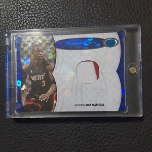 Dwayne Wade SSP Miami Heat Relic Card